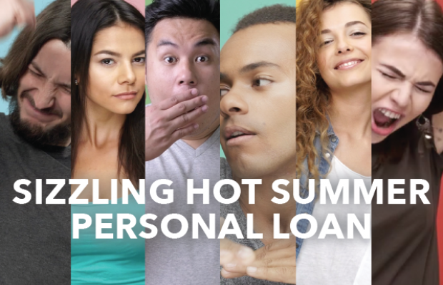 Sizzling Hot Summer Personal Loan, people celebrating